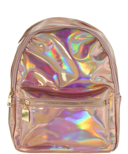 Multi-Color Fashion  Backpack BP6605 ROSEGOLD