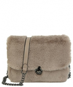 Push-lock Crossbody Bag TT708 CAMEL