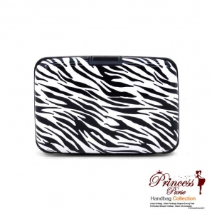 Sleek Durable Aluminum Card Holder/ Wallet with Rigid Surface.