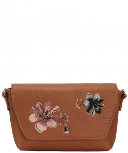 Women Bag From Eco-Leather David Jones CM4066 CAMEL