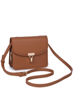 FERN Pebbled Vegan Leather 16460 TAN
