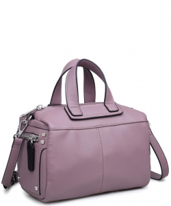 CALVIN  Pebbled Vegan Leather 18026 MAUVE