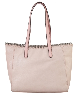 Fashion Chained Designer Satchel with Chain GF6633 BLUSH