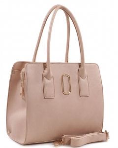Fashion Handbag For Women Top Handle Satchel Bag ES1707 CREAM