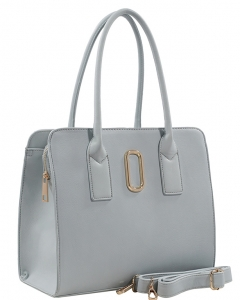 Fashion Handbag For Women Top Handle Satchel Bag ES1707 LIGHT BLUE