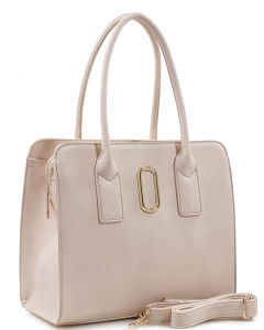 Fashion Handbag For Women Top Handle Satchel Bag ES1707 NUDE