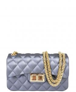 Compartments Trendy Whole Fashion Cross Body Bag Ja0006 Small Gray