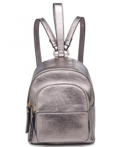 Kelly Metallic Vegan Leather 16642 PEWTER