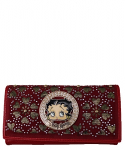 American Favorites KFW-904  Betty Wallet RED
