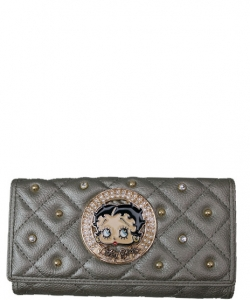 American Favorites KFW-905  Betty Wallet PEWTER