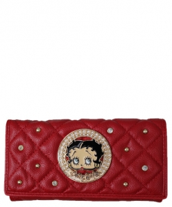 American Favorites KFW-905  Betty Wallet RED