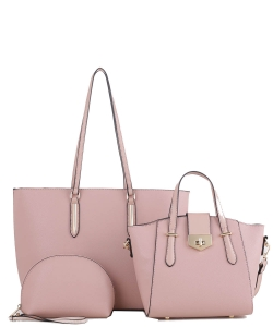 3 In 1 Fashion and Casual Style JX19202 BLUSH