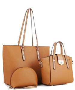 3 In 1 Fashion and Casual Style JX19202 TAN
