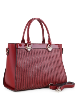 Guinness Patent Leather Bag US3130 RED