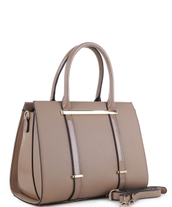 Guinness Patent Leather Bag US3123 TAUPE
