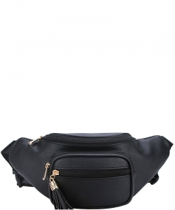 Designer Chic  Waist Bag KL089 BLACK