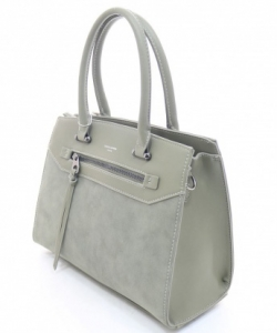 DAVID JONES  2 Strap  Handbag 5800-4 KHAKI
