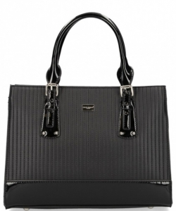 David Jones Tote handbag 5827-2 BLACK