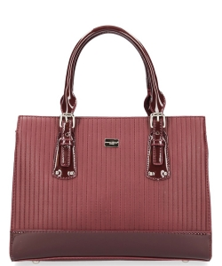David Jones Tote handbag 5827-2 BURGUNDY