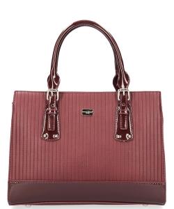 01ccffb19df9 David Jones Tote handbag 5827-2 BURGUNDY