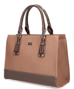 David Jones Tote handbag 5827-2 CAMEL