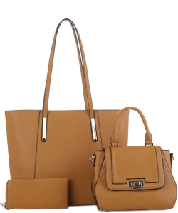 Tassel Accent 3 in 1 Tall Tote Set FC19184 MD