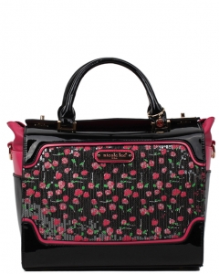 NICOLE LEE Imogen Flower Sequins Print Mini Handbag SE11704FLOWER