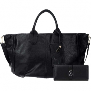 Handbag and Wallet Combo 27237 25816 Black