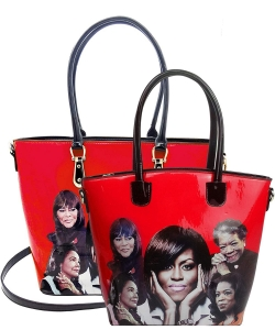 Michelle Obama and African American Icons Style Handbags Collection  28-mq6212