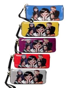 5 Pieces Michelle and African American Women Icons Wallet Collection 28-MQ8811