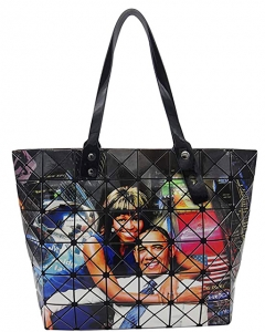 Michelle And Barack Obama Style Tote 28-PB9604