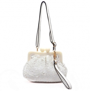 Evening Bag 28509 X24 White
