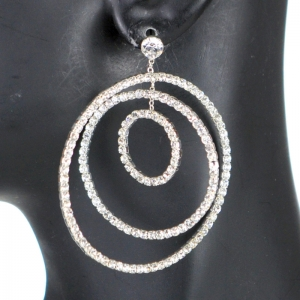 Earrings 28593 X25 Silver