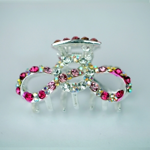 Hair Clips 28630 X26 Pink