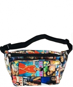 Michelle Obama Magazine Style Fanny Pack NEW Edition 28-MP3266 MULTI