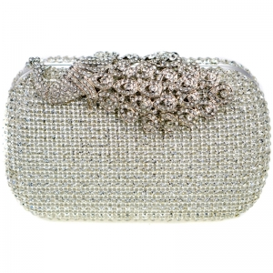 Evening Bag 29020 X26 Silver