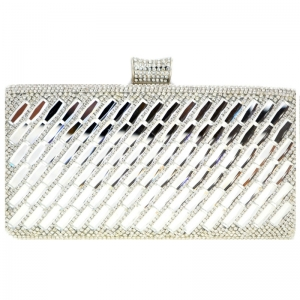 Evening Bag 29023 X26 Silver