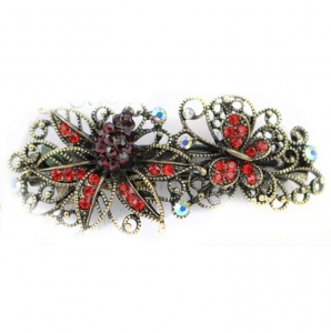 Flower Hair Clips 29051 X25 Red