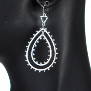 Earrings 29360 X43 Silver