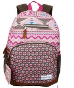 Backpack Polyester Dyed fabric 29842 PINK