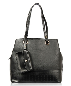 2in1 Shoulder Bag  2S1786 BLACK