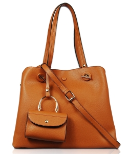 New Fashion 2in1 Shoulder Bag  2s1789 CAMEL