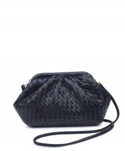 Urban Expressions Leona Crossbody Bag 30038 BLACK