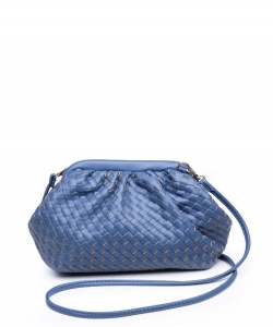 Urban Expressions Leona Crossbody Bag 30038 DENIM