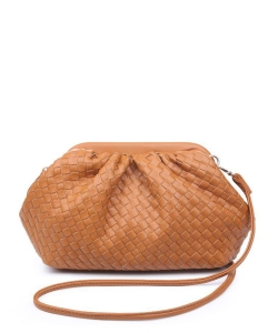 Urban Expressions Leona Crossbody Bag 30038 TAN