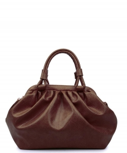 Urban Expressions Jordan Crossbody Bag 30039 CHOCOLATE