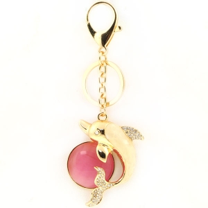 Dolphin Key Chain X26 30082 PINK