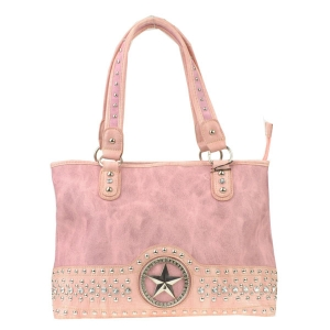Star Accent Tote Bag X12 30286 PINK