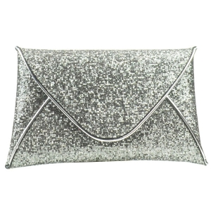 Sparkle Evening Clutch X49 30456  SILVER