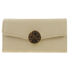 Gold Button Wallet X36 30646 TAUPE